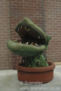 little shop of horrors set hire audrey pod 3